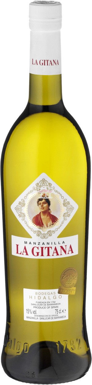 Hidalgo La Gitana Manzanilla