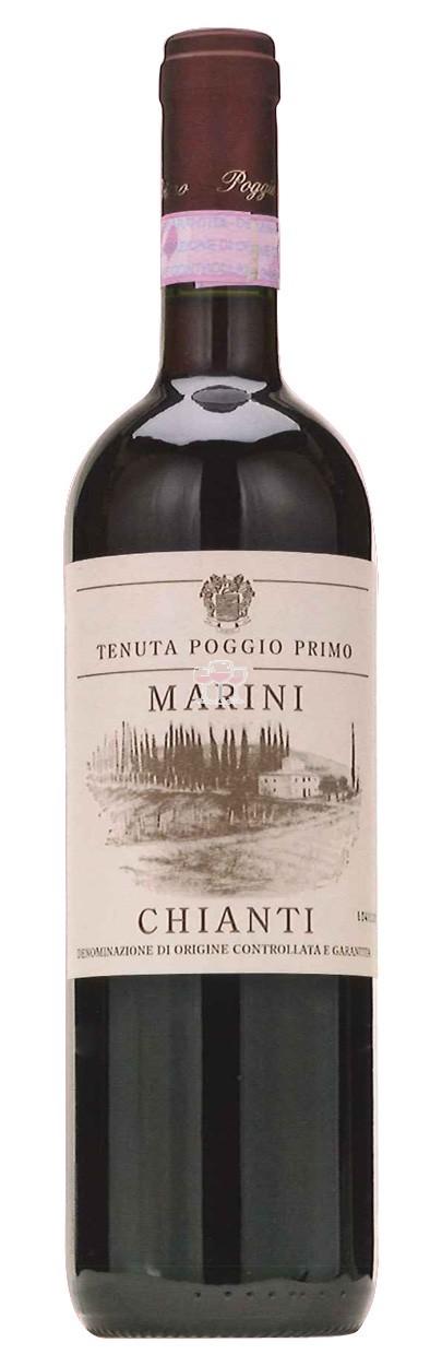 Marini Chianti Tenuta Poggio Primo Toskana Wein Italien