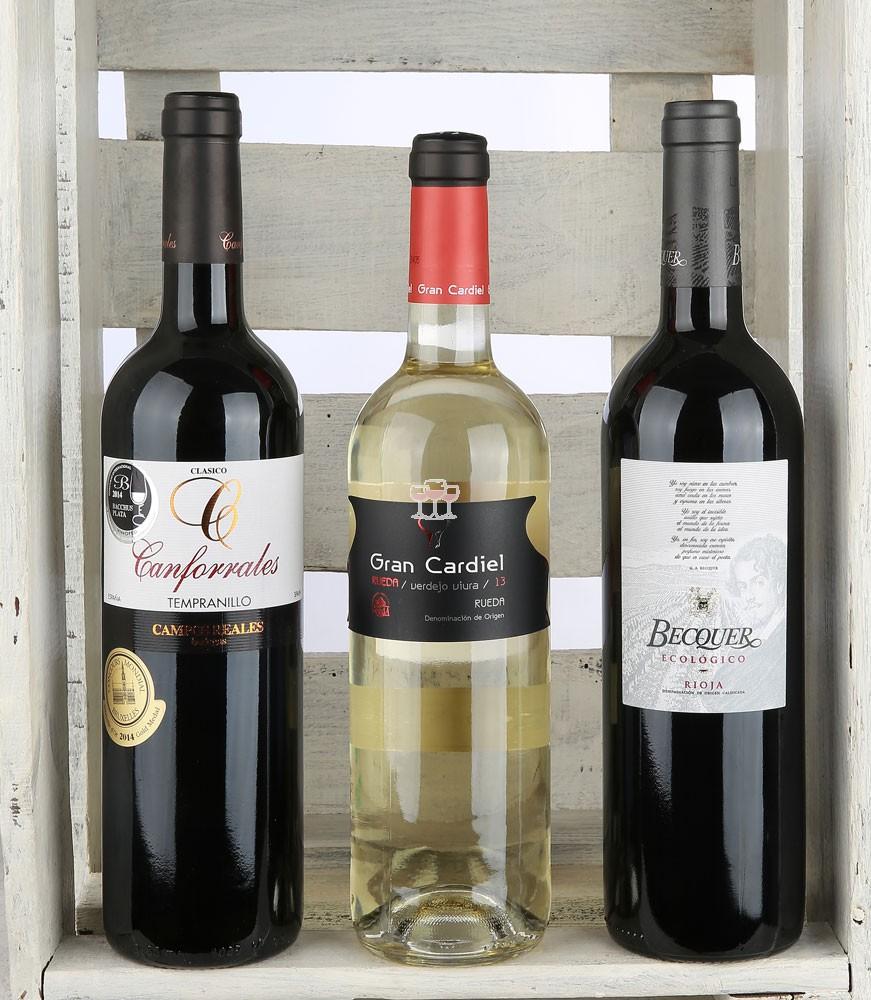 Bodegas Rioja Best of als Degustationspaket