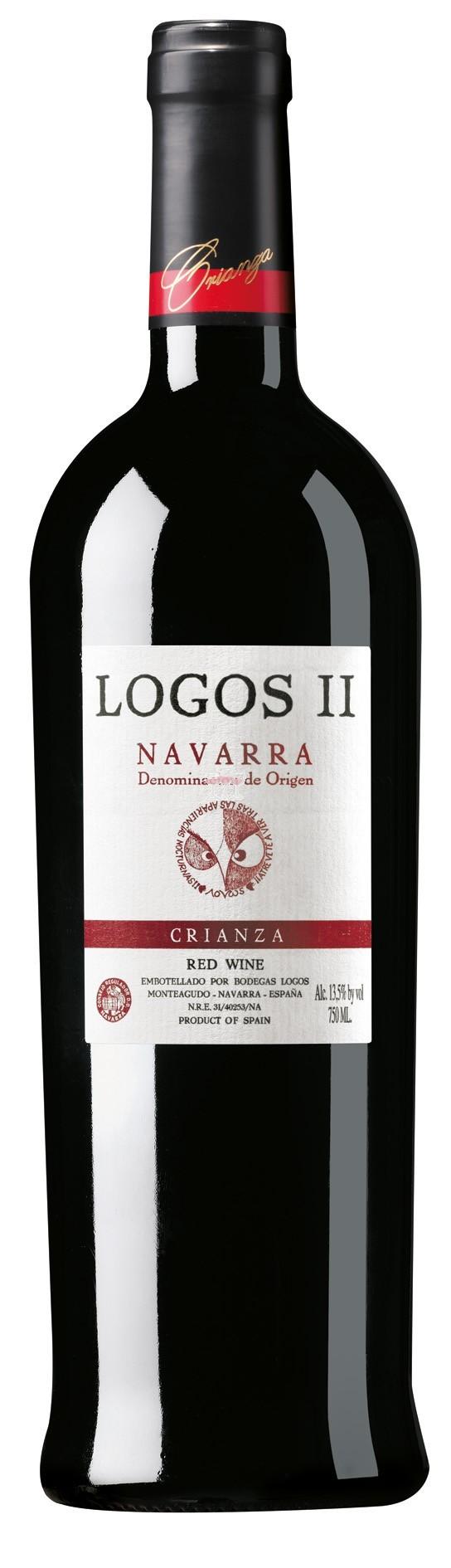 Logos II Crianza DOCa Rioja Wein Spanien Angebotspaket enthält 6 Flaschen